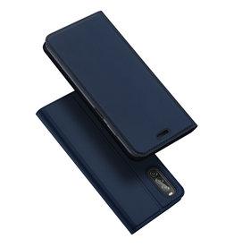 Dux Ducis Dux Ducis pro serie - slim wallet hoes - Sony Xperia 10 II - Blauw