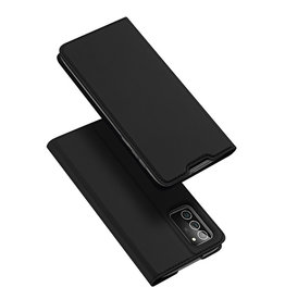 Dux Ducis Dux Ducis - pro serie slim wallet hoes - Samsung Galaxy Note 20 - Zwart