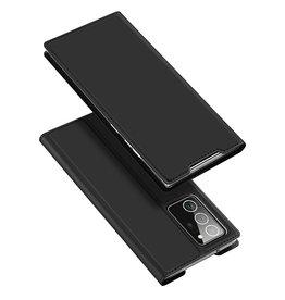 Dux Ducis Dux Ducis - pro serie slim wallet hoes - Samsung Galaxy Note 20 Ultra - Zwart