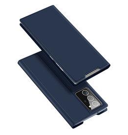 Dux Ducis Dux Ducis - pro serie slim wallet hoes - Samsung Galaxy Note 20 Ultra - Blauw