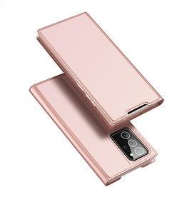 Dux Ducis Dux Ducis - pro serie slim wallet hoes - Samsung Galaxy Note 20 Ultra - Rose Goud