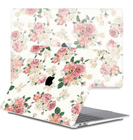 Lunso Lunso - cover hoes - MacBook Pro 13 inch (2020) - Pink Roses