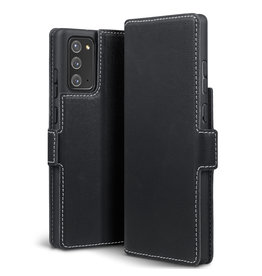 Qubits Qubits - slim wallet hoes - Samsung Galaxy Note 20 - Zwart