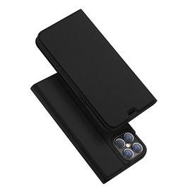 Dux Ducis Dux Ducis - Pro serie slim wallet hoes - iPhone 12 Pro Max - Zwart