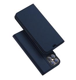 Dux Ducis Dux Ducis - Pro serie slim wallet hoes - iPhone 12 Pro Max - Blauw