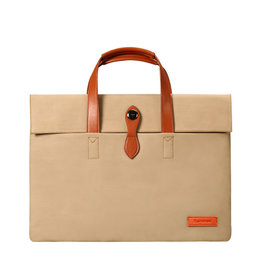 "Cartinoe - fashion laptoptas 13"" - Khaki"