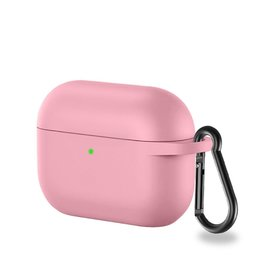 Lunso Lunso - Softcase cover hoes - AirPods Pro - Lichtroze