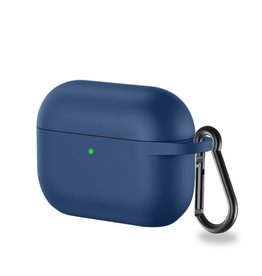 Lunso Lunso - Softcase cover hoes - AirPods Pro - Blauw