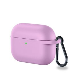 Lunso Lunso - Softcase cover hoes - AirPods Pro - Lila