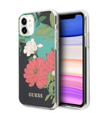 Guess Backcover hoes Floral No. 1 voor de iPhone 11