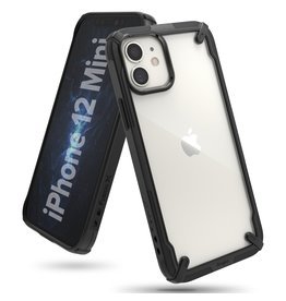 Ringke Ringke - Fusion X Guard backcover hoes - iPhone 12 Mini - Zwart