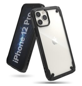 Ringke Ringke - Fusion X Guard backcover hoes - iPhone 12 / 12 Pro - Zwart