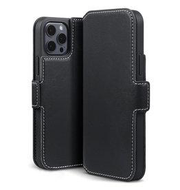 Qubits Qubits - slim wallet hoes - iPhone 12 / iPhone 12 Pro  - Zwart