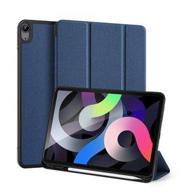 Dux Ducis Dux Ducis - Domo Serie folio sleepcover hoes - iPad Air (2020) 10.9 inch - Blauw