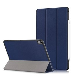 Lunso 3-Vouw sleepcover hoes - iPad Air (2020) 10.9 inch - Blauw