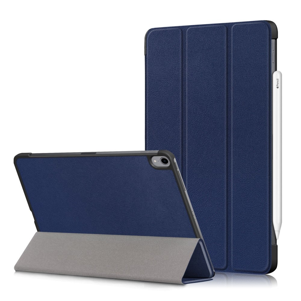 3-Vouw sleepcover hoes - iPad Air (2020) 10.9 inch - Blauw