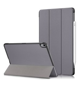 Lunso 3-Vouw sleepcover hoes - iPad Air (2020) 10.9 inch - Grijs
