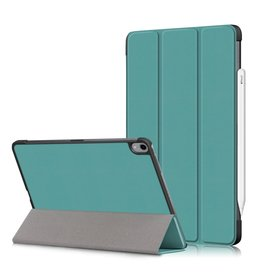 Lunso 3-Vouw sleepcover hoes - iPad Air (2020) 10.9 inch - Groen