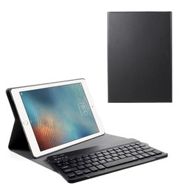 Lunso Lunso - afneembare Keyboard hoes - iPad 9.7 (2017/2018) / Pro 9.7 / Air / Air 2 - Zwart