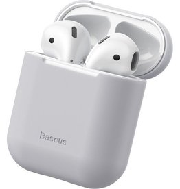 Baseus - Ultra dunne softcase cover hoes - AirPods 1 / 2 - Grijs