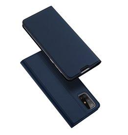 Dux Ducis Dux Ducis - Pro Serie slim wallet hoes - Samsung Galaxy M31s - Blauw