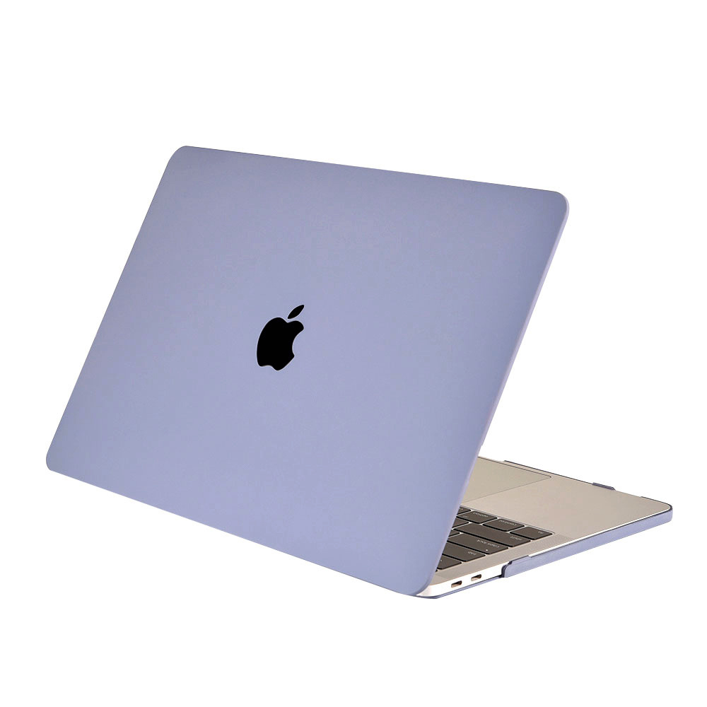 Lunso Cover hoes Candy lavender voor de MacBook Air 13 inch (2020)