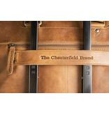 Chesterfield Jovi leren laptoptas Cognac voor 14 inch laptops