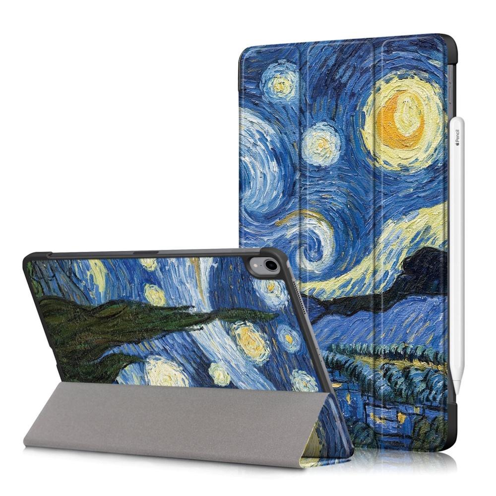 3-Vouw sleepcover hoes - iPad Air (2020) 10.9 inch - Van Gogh Schilderij