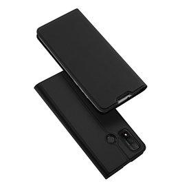 Dux Ducis Dux Ducis - Pro Serie Slim wallet hoes - Huawei P Smart (2020) - Zwart