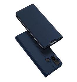 Dux Ducis Dux Ducis - Pro Serie Slim wallet hoes - Huawei P Smart (2020) - Blauw