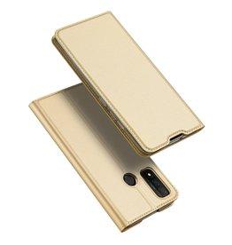 Dux Ducis Dux Ducis - Pro Serie Slim wallet hoes - Huawei P Smart (2020) - Goud
