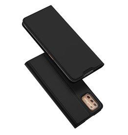 Dux Ducis Dux Ducis - Pro Serie Slim wallet hoes - Motorola Moto G9 Plus - Zwart