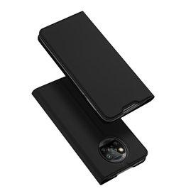 Dux Ducis Dux Ducis - Pro Serie Slim wallet hoes - Xiaomi Poco X3 - Zwart