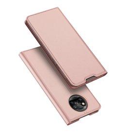 Dux Ducis Dux Ducis - Pro Serie Slim wallet hoes - Xiaomi Poco X3 - Rose Goud