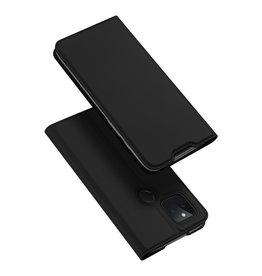 Dux Ducis Dux Ducis - Pro Serie Slim wallet hoes - Google Pixel 5 - Zwart