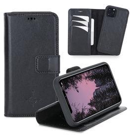 NorthLife NorthLife - Uitneembare 2-in-1 (RFID) bookcase hoes - iPhone 11 Pro - Burcht Trecht Zwart