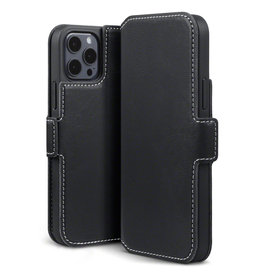 Qubits Qubits - slim wallet hoes - iPhone 12 Mini - Zwart