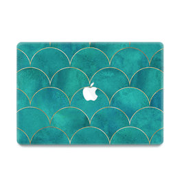 Lunso Lunso - cover hoes - MacBook Air 13 inch (2010-2017) - Blue Waves