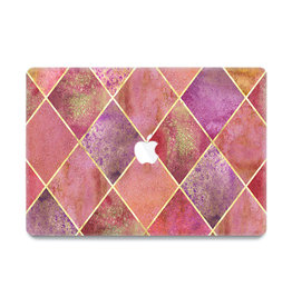 Lunso Lunso - cover hoes - MacBook Air 13 inch (2010-2017) - Diamond Rose