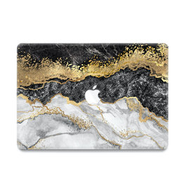 Lunso Lunso - cover hoes - MacBook Air 13 inch (2010-2017) - Marble Titus