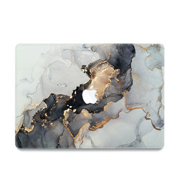 Lunso Lunso - cover hoes - MacBook Air 13 inch (2010-2017) - Marble Magnus