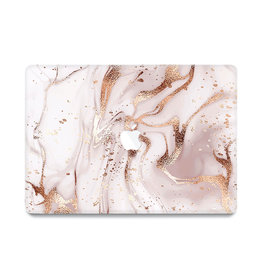 Lunso Lunso - cover hoes - MacBook Air 13 inch (2010-2017) - Marble Vera