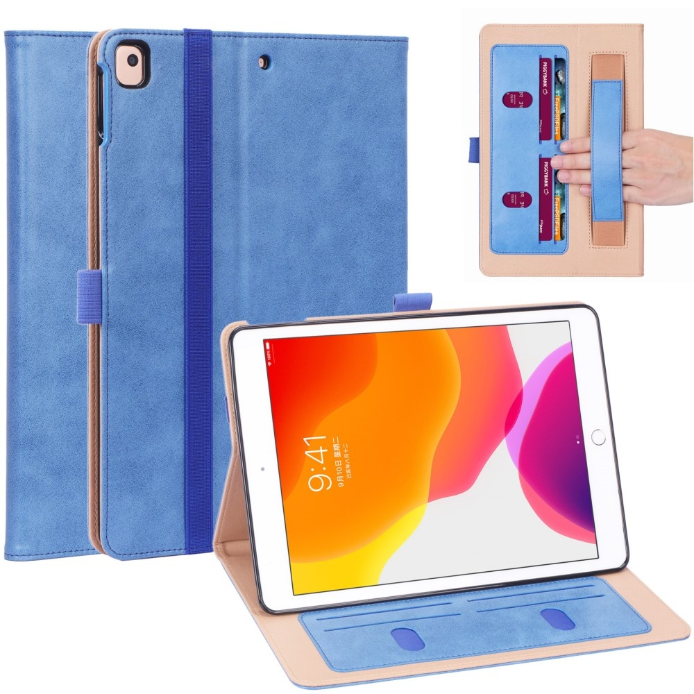 Luxe stand flip cover hoes - iPad 10.2 inch 2019 / 2020 - Blauw