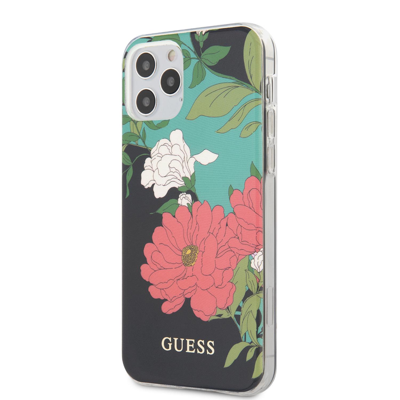 Guess Backcover hoes Floral No. 1 voor de iPhone 12 en iPhone 12 Pro