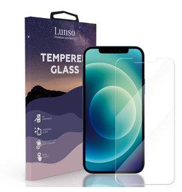 Lunso Lunso - Gehard Beschermglas - Full Cover Tempered Glass - iPhone 12 Mini