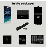 Lunso Duo Pack (2 stuks) Beschermfolie, Full Covered Screen Protector inclusief bevestiging tool voor de iPhone 12 Mini