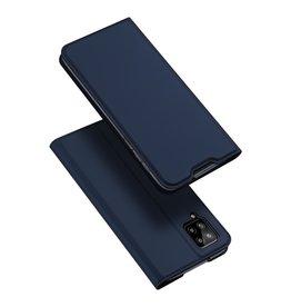 Dux Ducis Dux Ducis - Pro Serie Slim wallet hoes - Samsung Galaxy A12 - Blauw