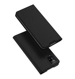 Dux Ducis Dux Ducis - Pro Serie Slim wallet hoes - Samsung Galaxy A12 - Zwart