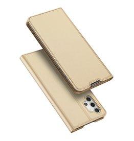 Dux Ducis Dux Ducis - Pro Serie Slim wallet hoes - Samsung Galaxy A32 5G - Goud