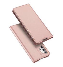 Dux Ducis Dux Ducis - Pro Serie Slim wallet hoes - Samsung Galaxy A32 5G - Rose Goud